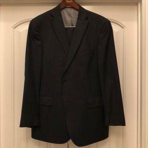 Hickey Freeman Grey Suit - 44R